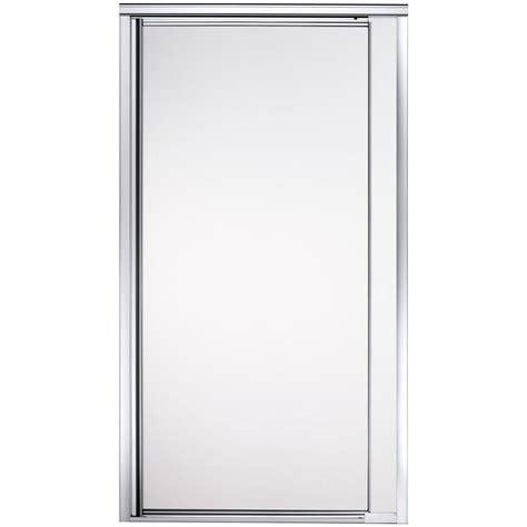 Sterling Vista Point 36 In X 65 1 2 In Framed Pivot Sterling Glass Shower Doors