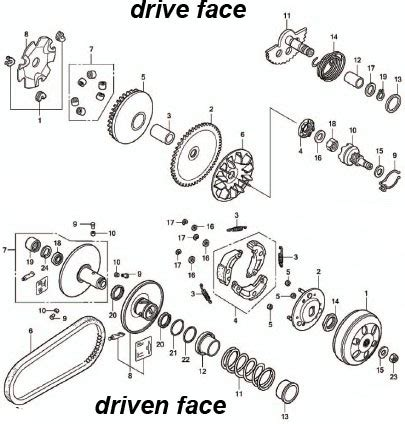 Katalog Sparepart Yamaha Xeon engine cutout mio dan xeon menjawab penasaran maskur s