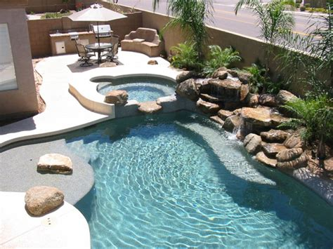 swimming pool landscaping triyae com backyard inground pool landscaping ideas