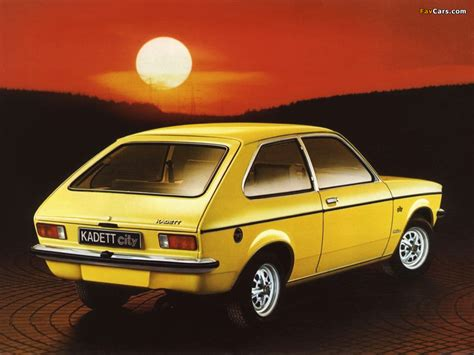 1975 Opel Kadett Photos Informations Articles
