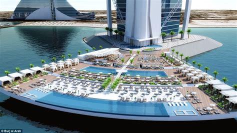 500 Ft To Miles by A Sneak Peek At Burj Al Arab S New Beachside Resort North