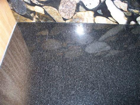 How To Repair Granite Countertop by Scratches On Absolute Black Granite Granite M D