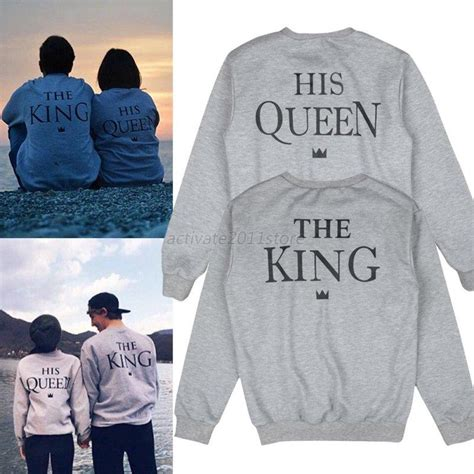 Stores That Sell Matching Shirts Fashion Hoodies Pullover Matching King And