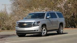 Chevrolet Tahoe Or Suburban The All New 2015 Chevy Tahoe And Suburban New Safety New
