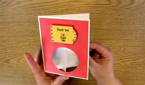 Interactive Thank You Cards