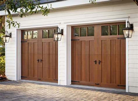 Faux Wood Garage Doors Faux Wood Garage Doors Garages Simple To Luxurious