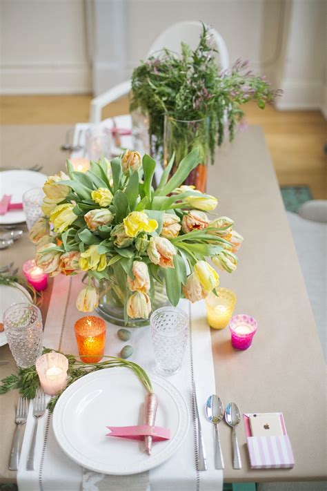 Diy Barns A Diy Colorful Easter Dinner Party From Pottery Barn