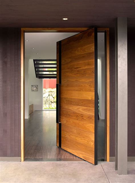modern front doors  reveal  character   home