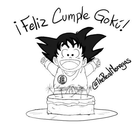 imagenes de goku para cumpleaños feliz cumplea 241 os goku homenaje taringa