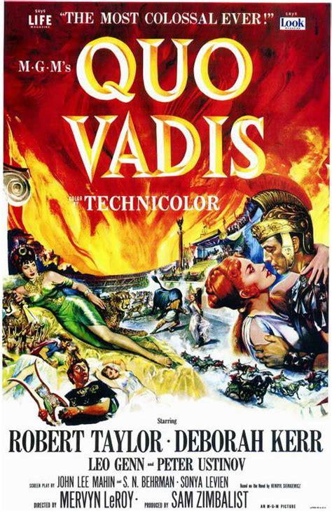 film gratis quo vadis quo vadis movie posters from movie poster shop