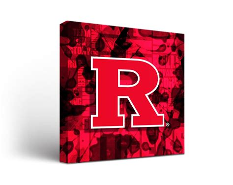 canvas rutgers rutgers scarlet knights fight song canvas wall art