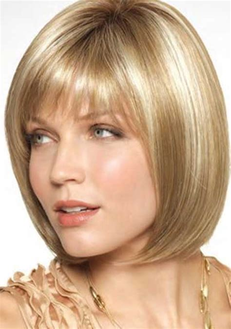 haircuts with bangs for hair 50 narrow chin chin length hair with bangs and stacked bob styles bobs