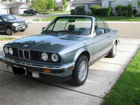 bmw 328i 1989 find used 1989 bmw 325i base convertible 2 door 2 5l e30