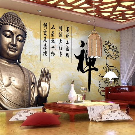 buddha wallpaper for bedroom popular buddhism paper buy cheap buddhism paper lots from