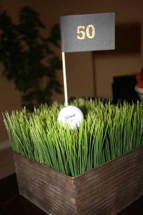 golf centerpiece ideas best 20 golf centerpieces ideas on