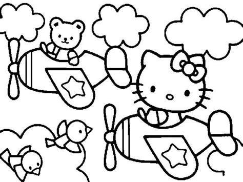 kumpulan gambar mewarnai  kitty terbaru  anak