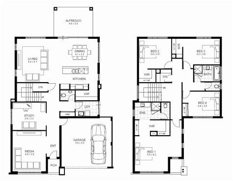 two floor house plans 5 bedroom 2 story house plans australia
