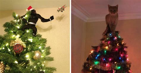 obscene christmas decorations 34 of the most creative tree toppers bored panda