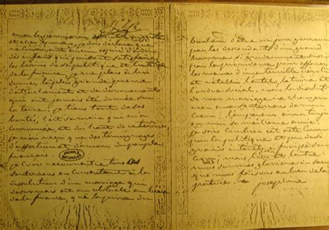 Josephine Divorce Letter Napoleon And Josephine Letters And Angst