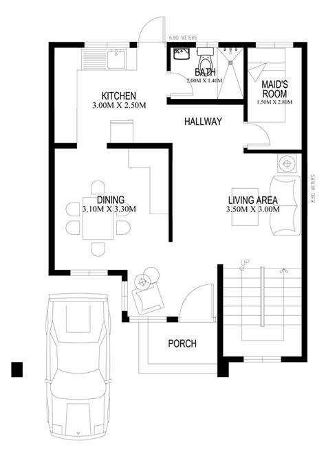 two-storey-houseplans-2014005-ground-floor-plan   Two