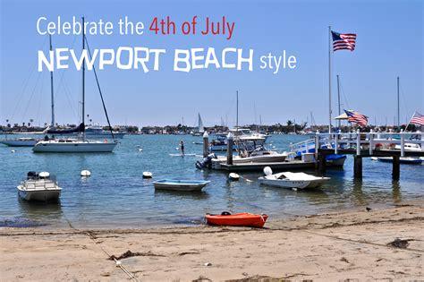 newport beach boat parade july 4th fireworks weekend fun in newport beach