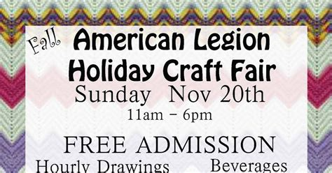 christmas craft show signs american legion post 104 craft fair sign up