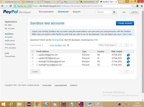 can i make a paypal account with a debit card paypal integration in android step by step
