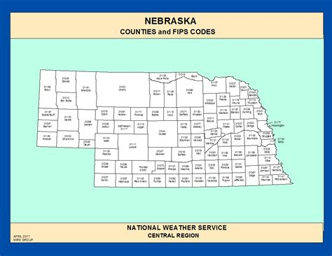 nebraska county map maps nebraska counties and fips codes