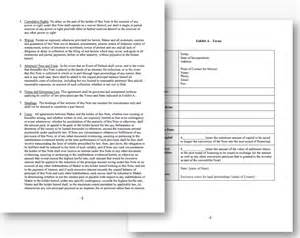 convertible note template doc 460595 convertible note agreement template