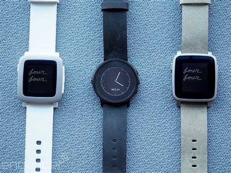 Time And Time Around pebble time review a prettier design comes with