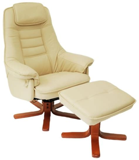classic recliner chairs daneway easychair classic swivel recliner chair and stool