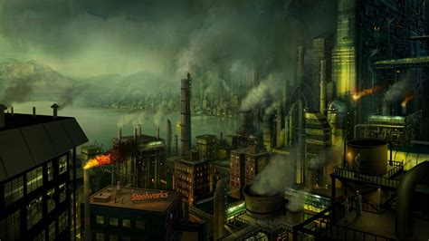 tapete industrial industrial revolution wallpaper