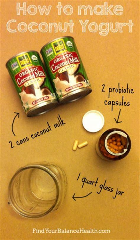 homemade coconut yogurt find  balance  michelle