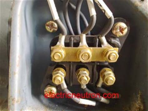3 phase induction motor terminal box terminal connection for induction motor electrical engineering centre