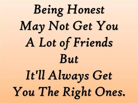 True Quotes 25 Inspirational Honesty Quotes Picshunger