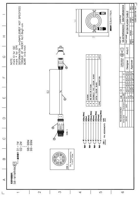 m12 ethernet wiring diagram free wiring