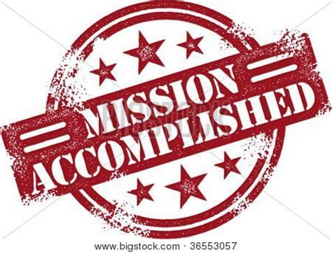 On The Road Mission Accomplished 2 by Mission Accomplished Reward St Stock Vector Stock