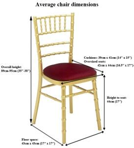 Chair Covers For Dining Room Chairs by Average Wedding Chair Dimensions Manufacturers And