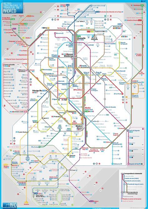 imagenes de subway mapa alternativo no oficial del metro de madrid subway