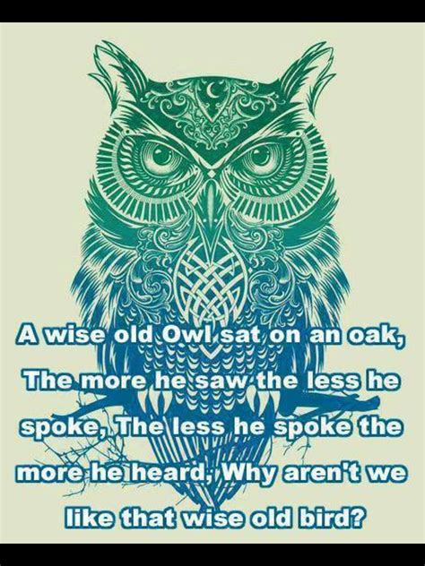 wise owl tattoo designs wise owl quotes poetry and living by design