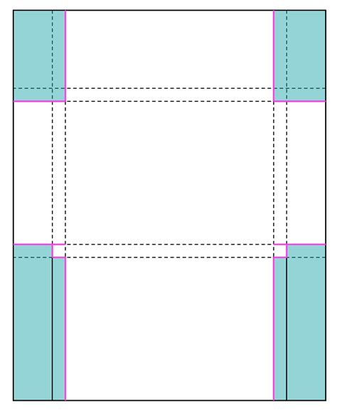 a2 size card template perforated note cards card set envelope tutorial