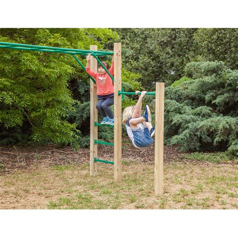 monkey bars for backyard amazon monkey bar set