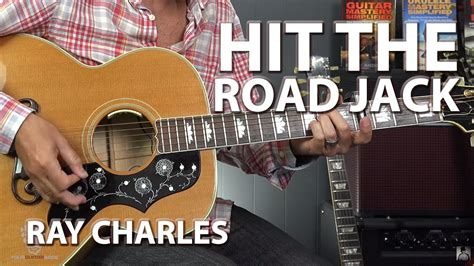 fingerstyle tutorial hit the road jack guitar lesson ray charles hit the road jack with tabs