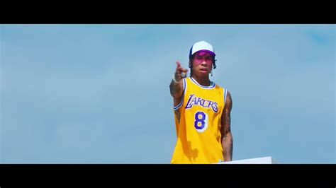 taste tyga hd seen in the music video lakers jersey in taste by tyga