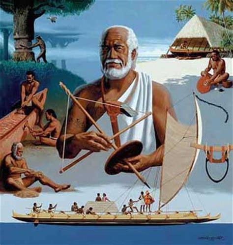 Kahuna Priest polynesian pathways