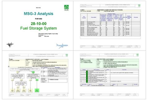 reliability report template msg 3 sohar service