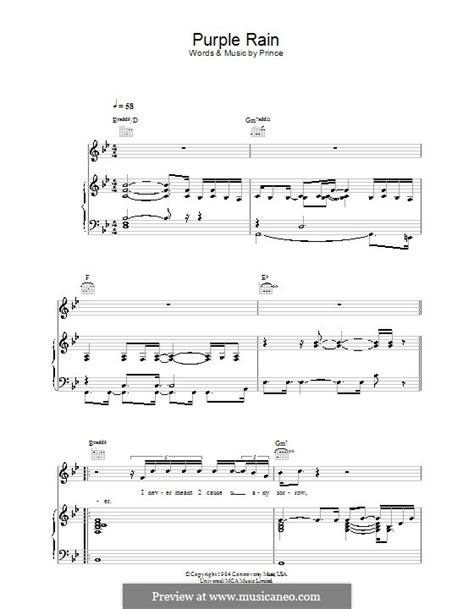 piano tutorial purple rain purple rain by prince sheet music on musicaneo