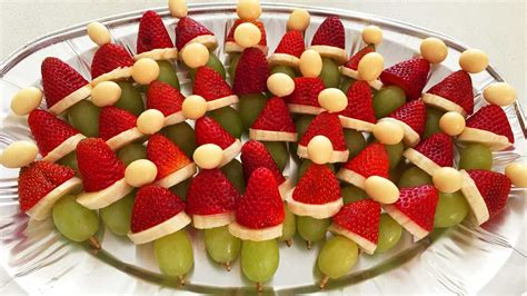 fruit kebabs santa hat fruit kebabs recipe 9kitchen