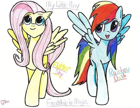 my doodle drawings my pony colored drawing rd and fs by wolven101 on