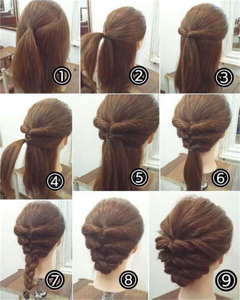 cara membuat cepol rambut tipis sanggul rambut dan ceritanya lihat koleksi gambar foto